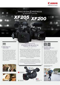 Offers from Canon in the Singapore leaflet