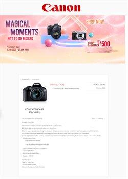 Canon catalogue ( Expired )