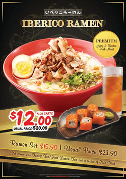 Offers from Ajisen Ramen in the Singapore leaflet