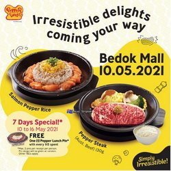 Pepper Lunch offers in the Pepper Lunch catalogue ( Expires tomorrow)