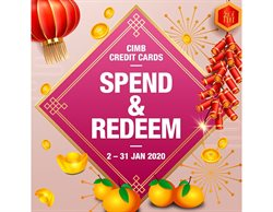 Offers from CIMB Bank in the Singapore leaflet