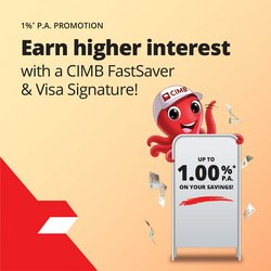 Banks offers in the CIMB Bank catalogue ( Published today)