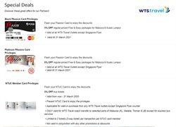 WTS Travel catalogue ( 27 days left )
