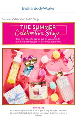 Beauty & Health offers in the Bath & Body Works catalogue ( Expires tomorrow)