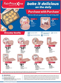 Supermarkets offers in the FairPrice Xtra catalogue in Singapore ( 19 days left )