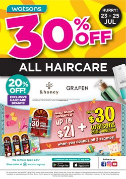 Beauty & Health offers in the Watsons catalogue ( 9 days left)