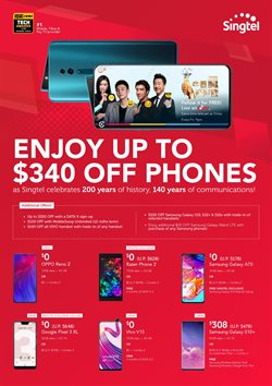 Electronics & Appliances offers in the Singtel catalogue in Singapore