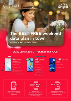 Electronics & Appliances offers in the Singtel catalogue in Singapore ( Expires Today )