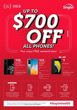 Electronics & Appliances offers in the Singtel catalogue in Singapore ( 3 days left )