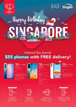 Electronics & Appliances offers in the Singtel catalogue in Singapore ( Published today )