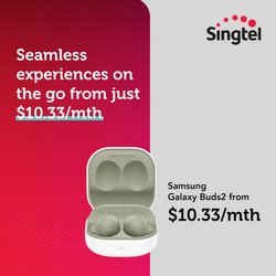 Electronics & Appliances offers in the Singtel catalogue ( 10 days left)