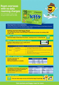 Marina Bay Link Mall offers in the StarHub catalogue in Singapore