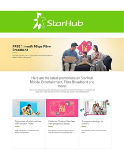 StarHub catalogue in Singapore ( 6 days left )