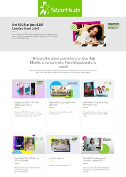 StarHub catalogue ( 18 days left )