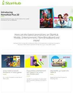 StarHub catalogue ( 1 day ago )