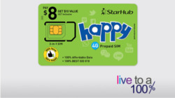 Offers from StarHub in the Singapore leaflet
