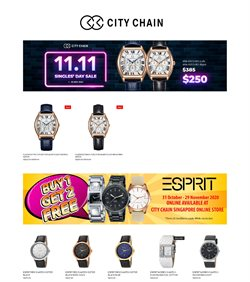 City Chain catalogue in Singapore ( Expired )