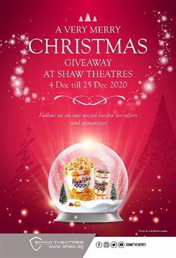 Shaw Theatres catalogue ( Expired )