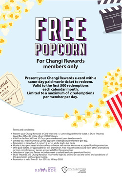 Shaw Theatres coupon ( More than a month )