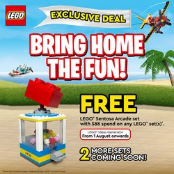 Kids, Toys & Babies offers in the LEGO catalogue ( 1 day ago)