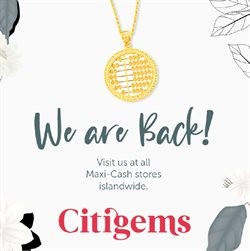 Citigems catalogue ( More than a month )