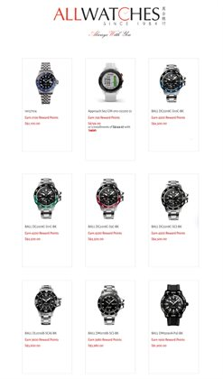All Watches catalogue ( Published today )