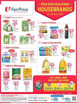 Offers from FairPrice Finest in the Singapore leaflet