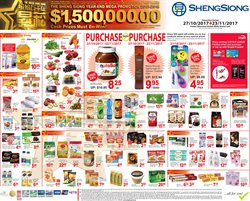 Offers from ShengSiong in the Singapore leaflet