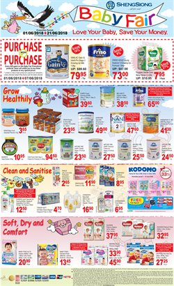 Supermarkets offers in the Sheng Siong catalogue in Singapore