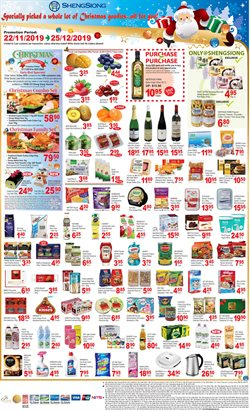 Offers from Sheng Siong in the Singapore leaflet