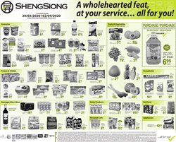 Sheng Siong catalogue ( 2 days left )