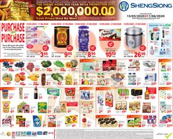 Sheng Siong catalogue in Singapore ( 8 days left )