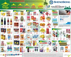 Sheng Siong catalogue in Singapore ( 15 days left )