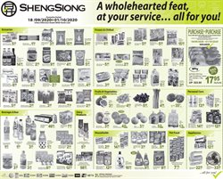 Sheng Siong catalogue ( 5 days left )