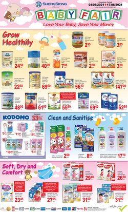 Supermarkets offers in the Sheng Siong catalogue ( Expires tomorrow)