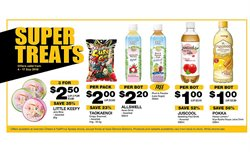 Supermarkets offers in the Cheers catalogue in Singapore