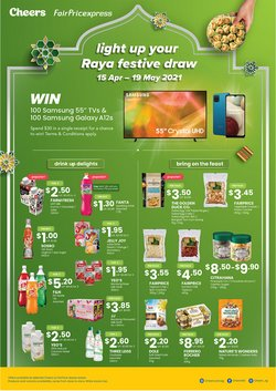 Supermarkets offers in the Cheers catalogue in Singapore ( 2 days ago )