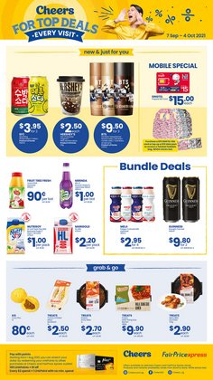 Cheers offers in the Cheers catalogue ( 14 days left)