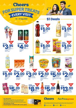 Cheers offers in the Cheers catalogue ( 7 days left)