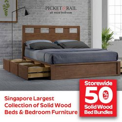 Home & Furniture offers in the Picket&Rail catalogue ( 5 days left)