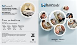 Offers from Sealy Posturepedic in the Singapore leaflet