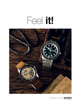 Jewellery & Watches offers in the Rado catalogue in Singapore ( 27 days left )