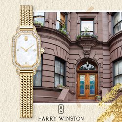 Jewellery & Watches offers in the Harry Winston catalogue ( 21 days left)