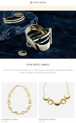 Poh Heng catalogue ( More than a month )