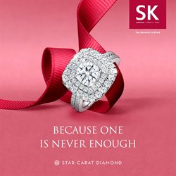 Jewellery & Watches offers in the SK Jewellery catalogue in Singapore ( 2 days ago )