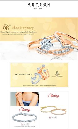 Offers from Meyson Jewellery in the Singapore leaflet