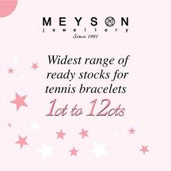 Meyson Jewellery offers in the Meyson Jewellery catalogue ( 24 days left)