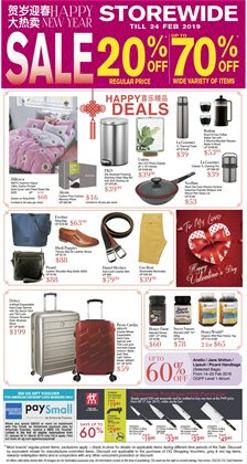 Department Stores offers in the OG catalogue in Singapore