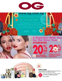 Department Stores offers in the OG catalogue in Singapore ( 13 days left )