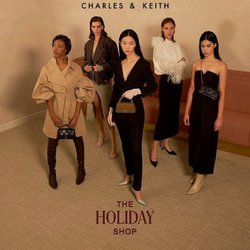 Charles & Keith catalogue in Singapore ( More than a month )